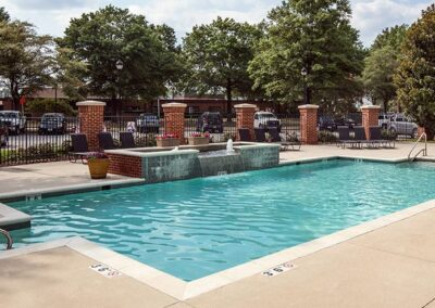 The Myrtles at Olde Towne-swimming clear